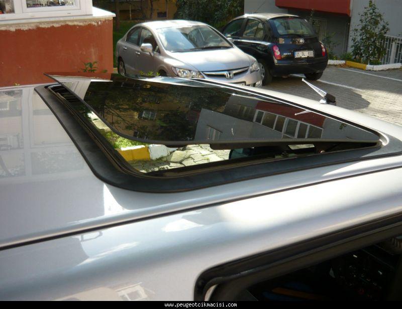 Peugeot 106 Sunroof Camı