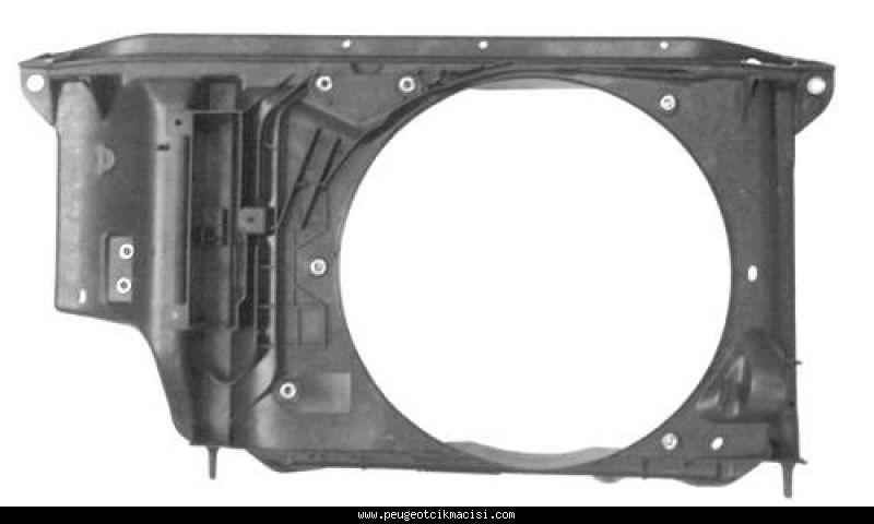 Peugeot 206 Fan Paneli Klimalı