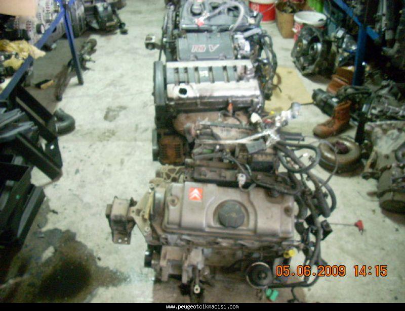 Peugeot 206 Komple Motor
