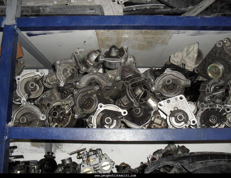 Peugeot 207 Marş Motoru