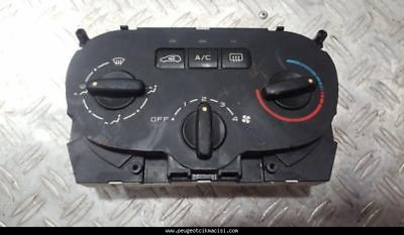 Peugeot 307 Kalorifer Kontrol Paneli Analog