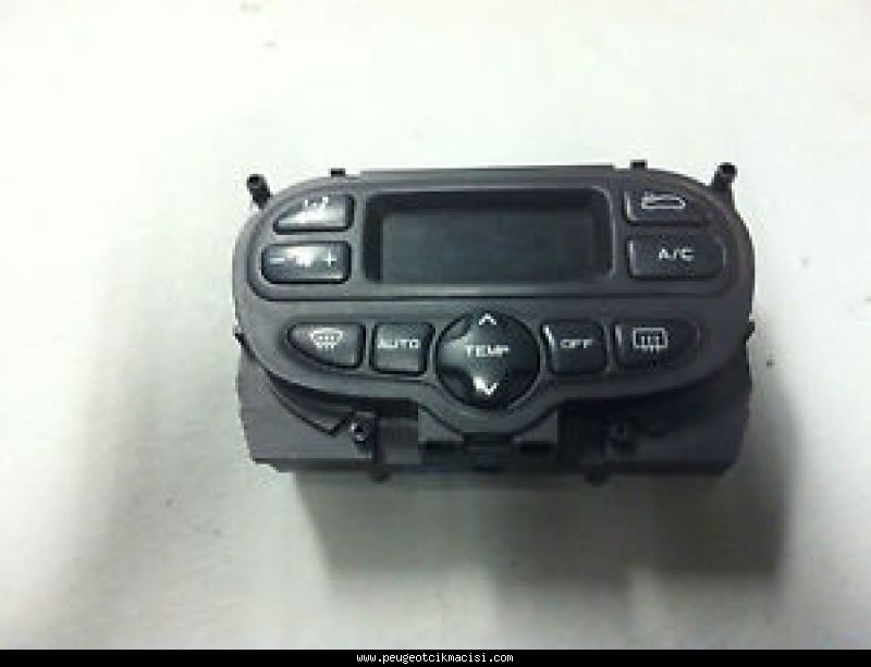 Peugeot 307 Kalorifer Kontrol Paneli Dijital