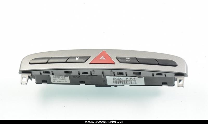 Peugeot 308 Dörtlü Düğme Paneli